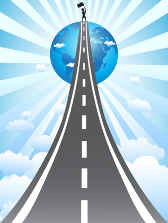 future background: the concept of road  to success