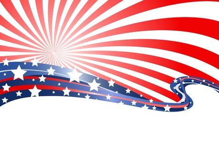 애국 테마의 추상적 인 배경
