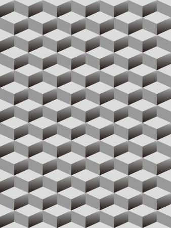 geométrico: os cubos de emenda fundo Ilustração