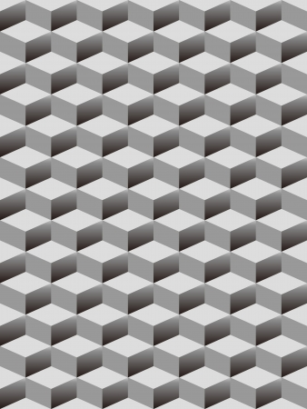 geometrical shapes: the seamless cubes pattern background