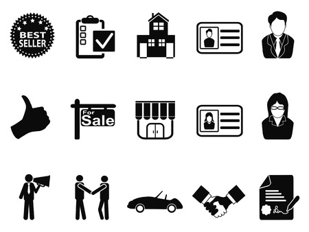isolated sales icon set from white background Vector