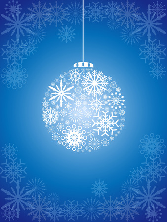 holiday background: the christmas ball background for Christmas holiday