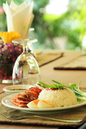 Red pork rice Stock Photo - 7597539