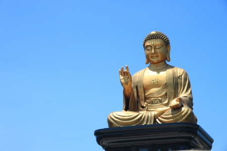 Golden buddha Stock Photo - 14230840