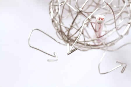 Love in the wiring world Stock Photo - 14333227