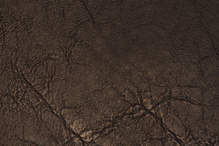 distressed: Black leather texture for background