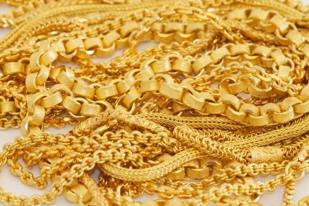 Veel stijl van gouden ketting