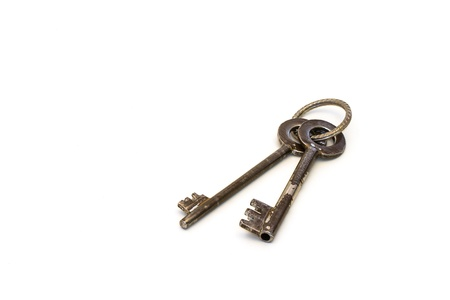 Safe keys on a white background Stock Photo - 17206275