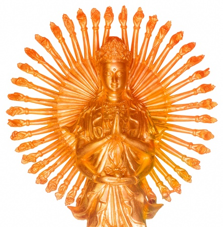 The Goddess of Mercy with thousand hands photo