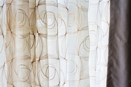 airy: lace airy curtain for interior