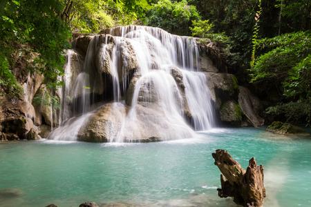 miraculous: huay maekamin waterfall, kanchanaburi, thailand