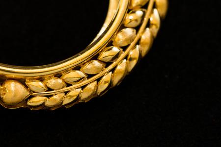 medaglione: parte dell'artigianato delicated cornice oro medaglione
