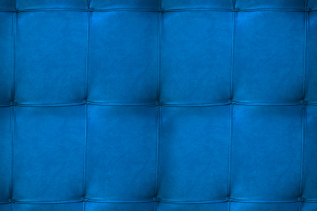 blue leather texture design of furniture photo