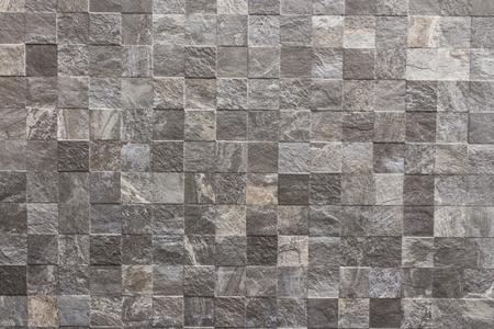 piso piedra: clásica textura de la pared de azulejos para el interior Foto de archivo