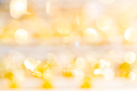 silver jewelry: abstract gold bokeh background of jewelry