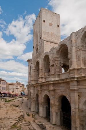 arles: Roman Arena in Arles, France