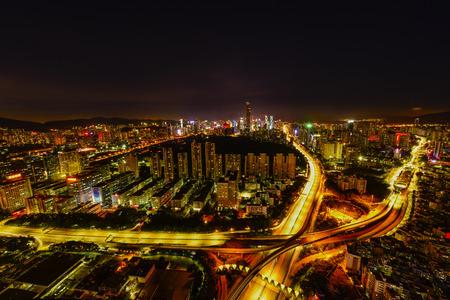 futian: Shenzhen night view