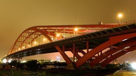 City bridge landscape view Stock Photo