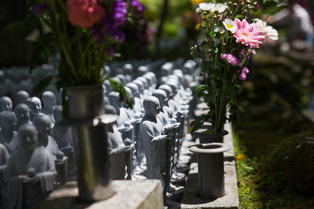 male likeness: Japan Buddha Statue in the graveyard