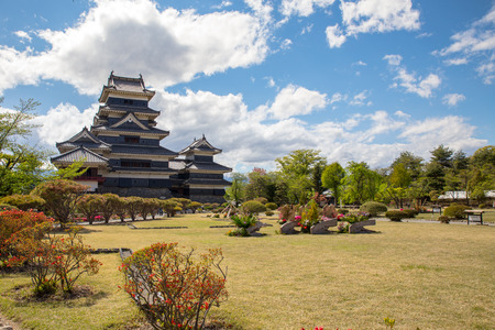 matsumoto: Matsumoto Castle, Nagano Prefecture, Japan Editorial