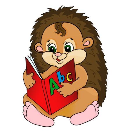 porcupine: cartoon hedgehog