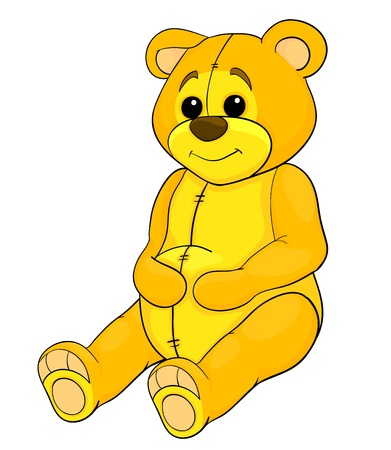 teddy bear toy Stock Vector - 16297815