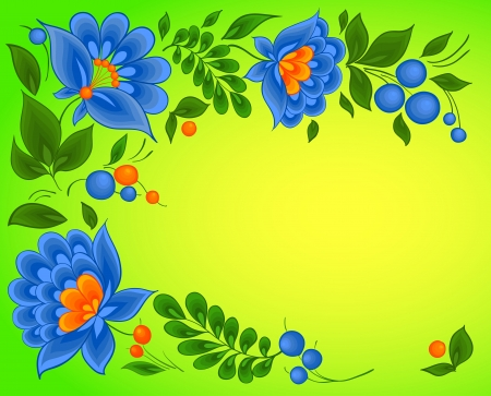 floral backgrounds, paint pattern Vector