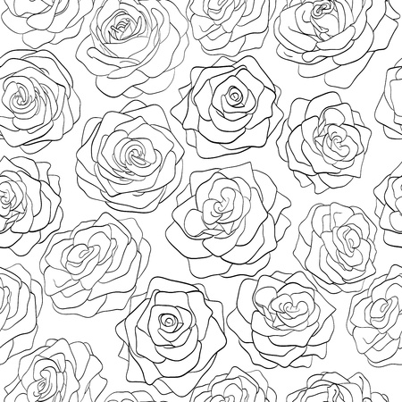 seamless pattern of roses Stock Vector - 18276270