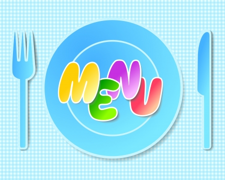 paper tableware, background for menus  Many similarities to the author Vector