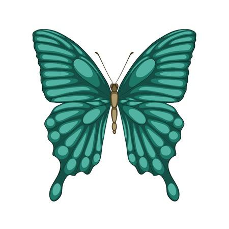 mariposas volando: Hermosa mariposa aislado en blanco con efecto de acuarela Perfecto para las tarjetas y las invitaciones de la boda, cumpleaños, Día de San Valentín s de felicitación de fondo