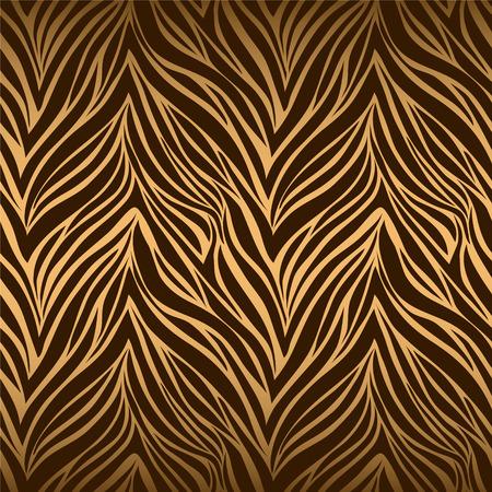 Nahtlose textur Tiger Haut  Standard-Bild - 33212793