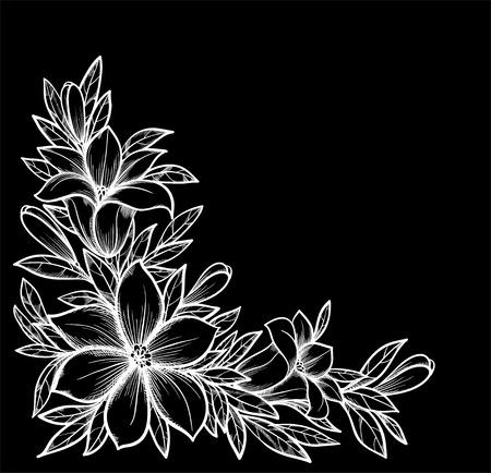Schwarz-Weiß, Schwarz Und Weiß Nahtlose Horizontale Rahmenelement ...