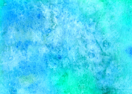 watercolour background: Blue watercolor background. Abstract hand paint square stain backdrop