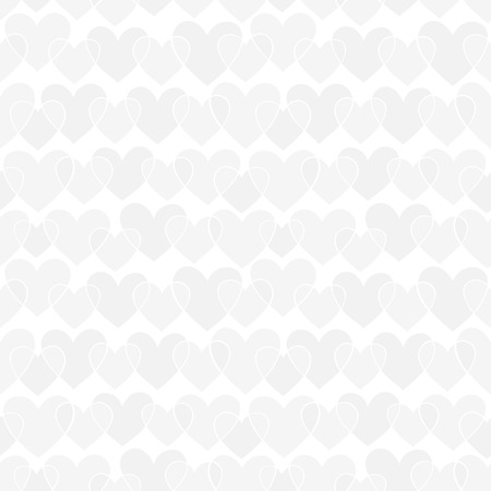 gray texture: beautiful seamless pattern with white, silver, grey doodling sketch heart. design for holiday greeting card and invitation of the wedding, Happy Valentines day, birthday and mothers day. Illustration