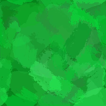 green watercolor background. Abstract hand paint square stain backdrop.