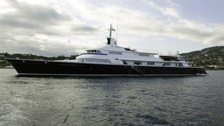 vacance: Il motor yacht di 70 Un metro 1973 Lrssen costruire yacht in precedenza Carinzia VI