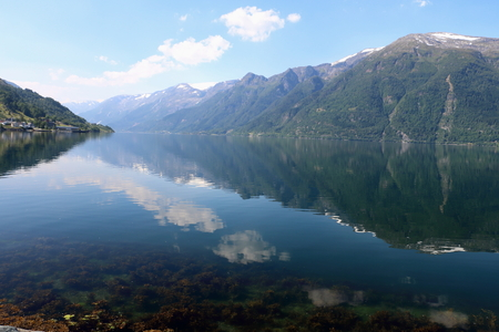 Byglands fjord in Norway