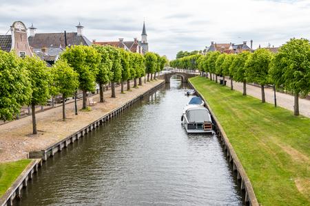 Sloten a medieval city in the Netherlands, Friesland province, Gaasterland region