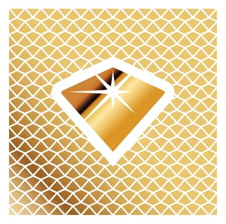 Golden Jewel Icon