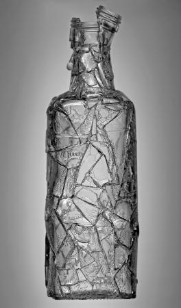 ajenjo: Botella rota