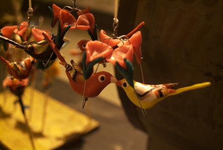 lovebirds: clay lovebirds