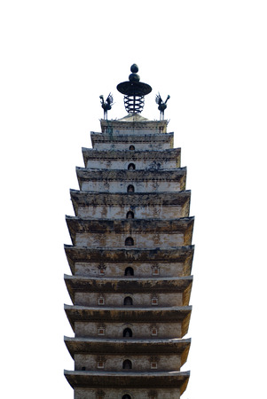 temple tower: Temple tower isolated