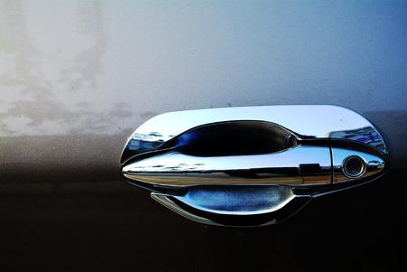 Car door handle 版權商用圖片