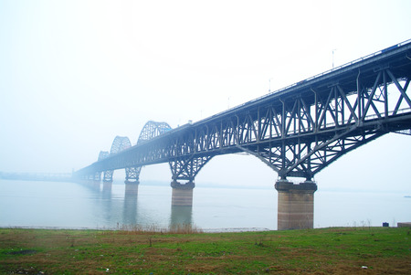 yangtze: jiujiang yangtze river suspension bridge
