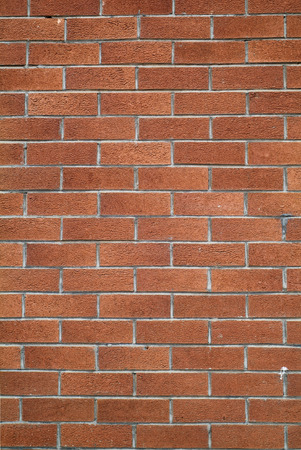 red brick wall: Red brick wall texture background Stock Photo