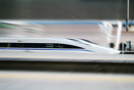 bullets: High speed train
