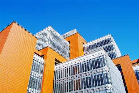 dormitory: House under blue sky