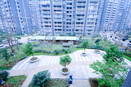 reside: Apartment building