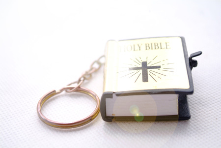 anointed: bible ring buckle