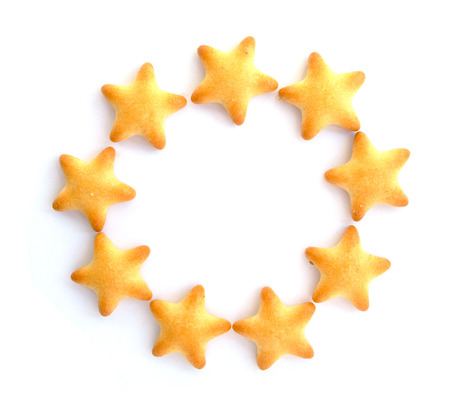 star shaped: star shaped biscuit